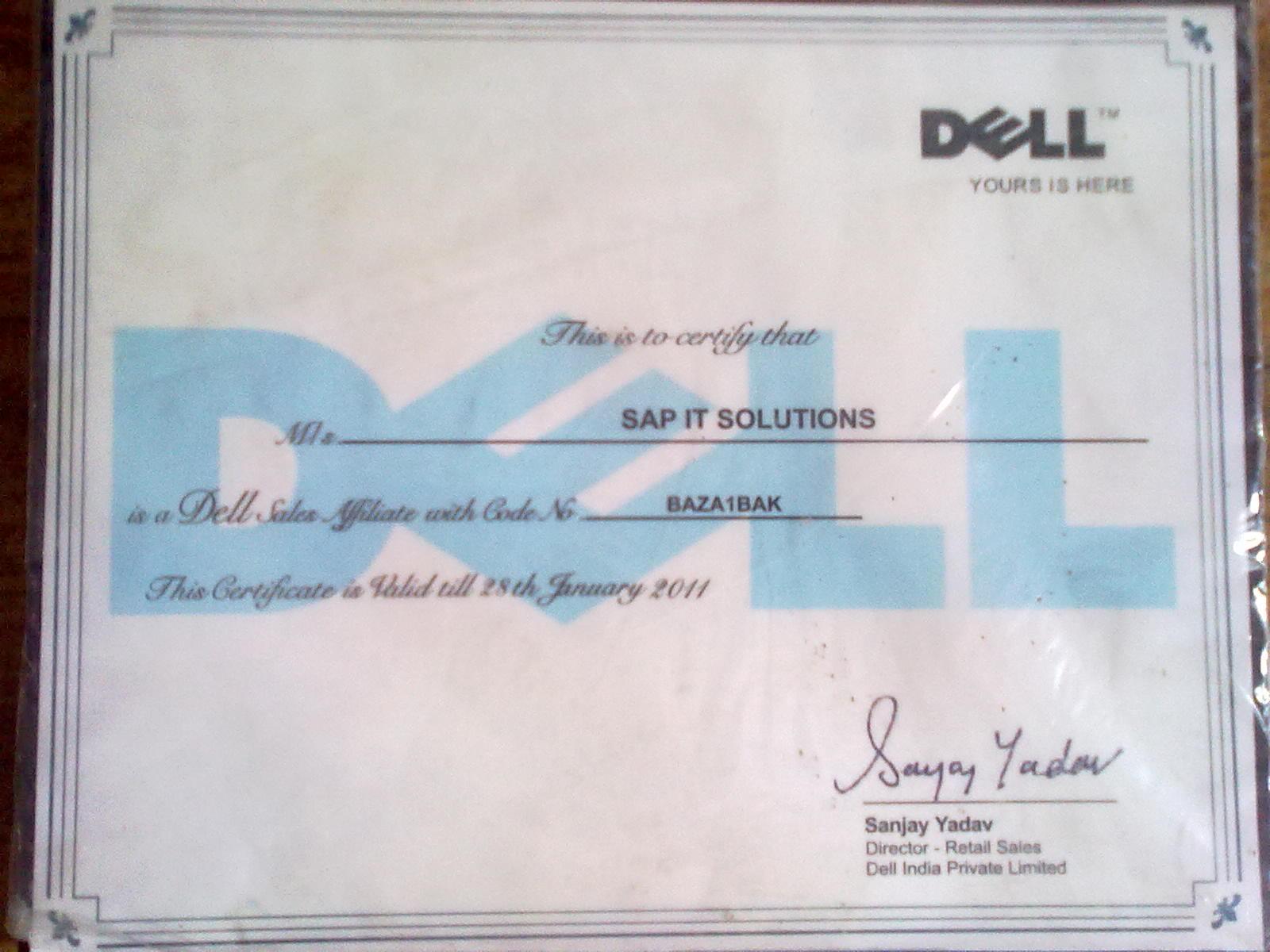 Nett Dell Certification Ideen - zertifizierungsstelle ...